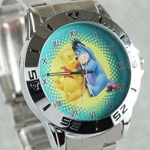 Accessories - New Eeyore & Pooh Novelty Stainless Steel Watch